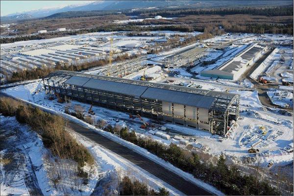 Kitimat Aluminum Modernization Plant