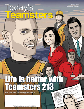 Web Cover—Today's Teamsters Spring 2017